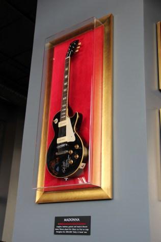 Guitare de Madonna