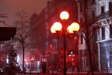 Fête des Lumières 2016 - La bétonnière boule à facettes - Rue du Président Carnot