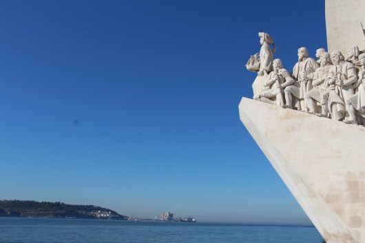 Le monument aux Découvertes.