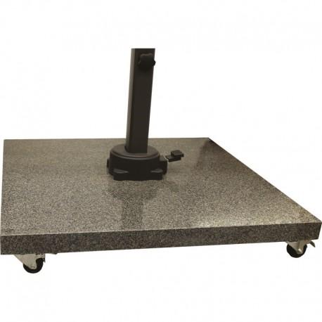 pied de parasol en granit 90kg