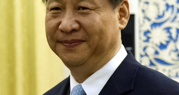 Xi Jinping, future leader of the People's Republic of China.