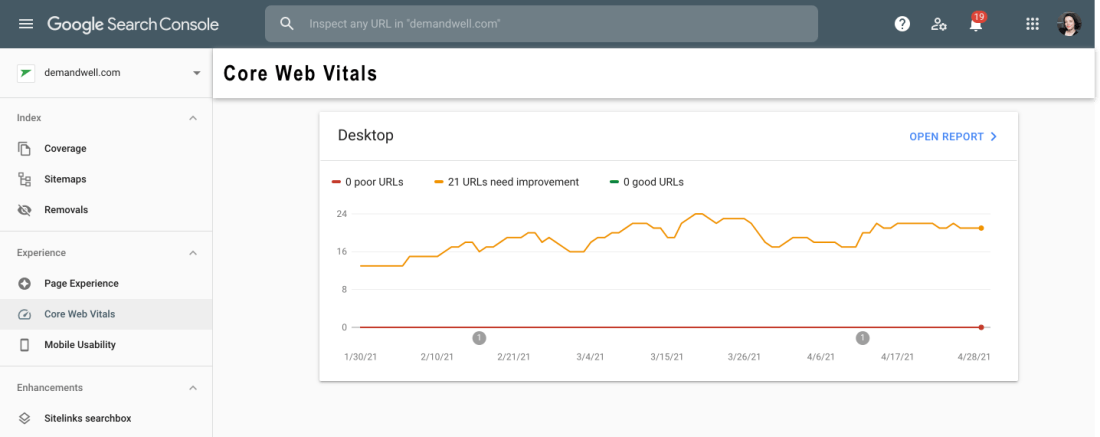 What the Core Web Vitals Algorithm Update Means for B2B SaaS Companies
