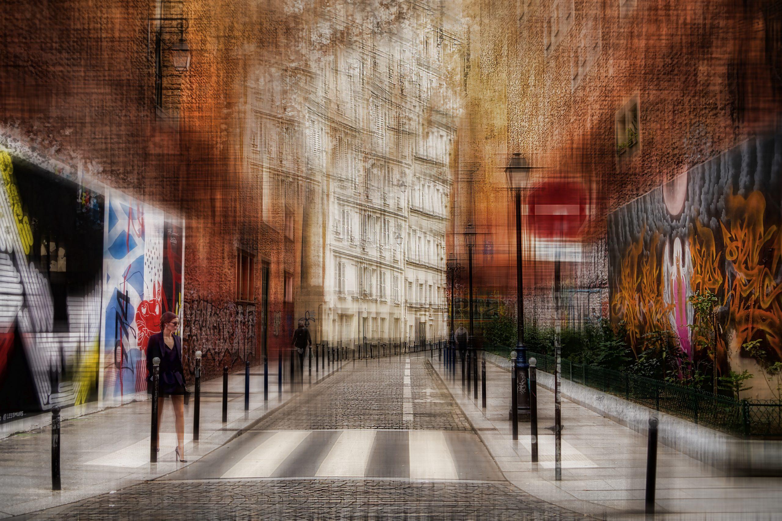Ballade parisienne –  Rue Legouvé  –  Paris 12