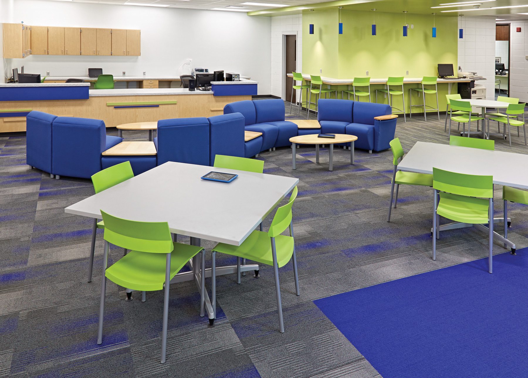 The New School Library Transformation Inside Amp Out