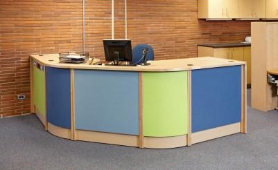 A look at a circulation desk