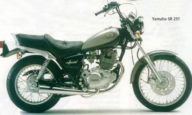 Manual de despiece Yamaha SR 250