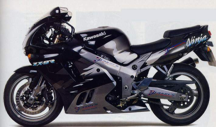 Manual Kawasaki ZX-9R
