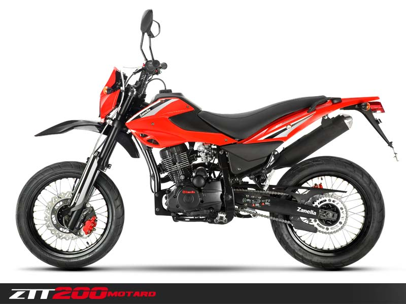 Manual Zanella ZTT 200 Motard, despiece y del usuario