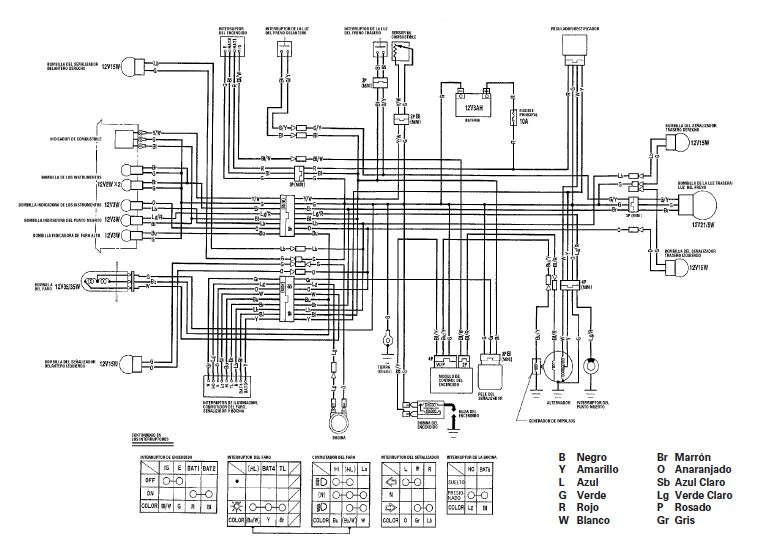 Manuales De Diagramas El 233 Ctricos Yamaha Dt 125 Honda Cg