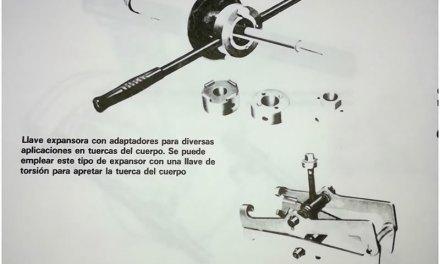 Herramientas necesarias para la reparación y cambio de amortiguadores