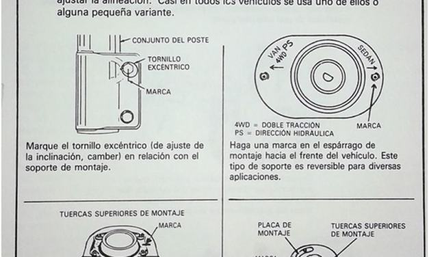Reparación de amortiguadores y suspensión