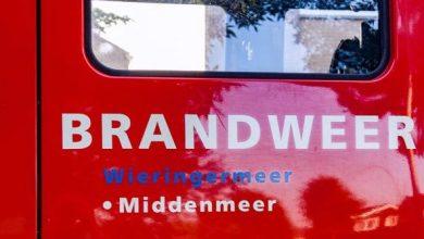 Photo of Brand in transformatorhuis bij kassen in Middenmeer