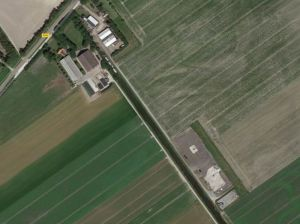 'Gasstation Middenmeer' - Foto: Google Earth