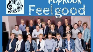 Photo of Wieringermeers koor 'Feel good' in de Kees Schuur