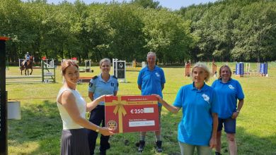 Photo of Rotary Wieringerland steunt ruiterroute Dijkgatbos