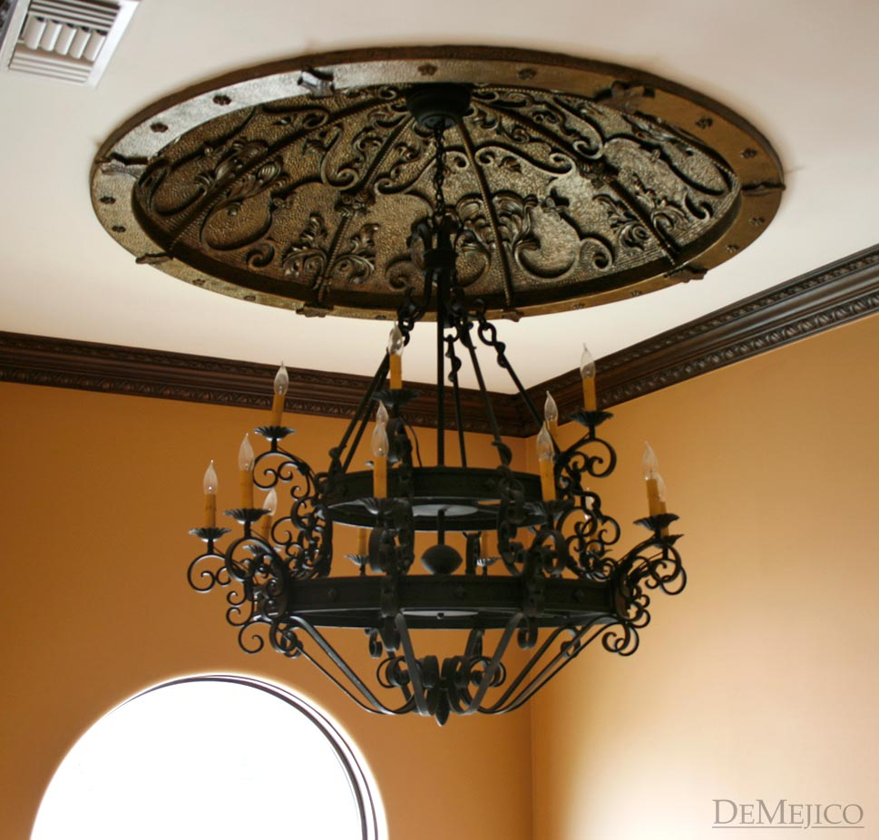 spanish style chandelier