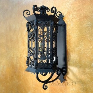 hand forged spanish wall mount