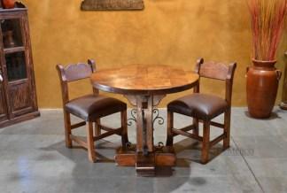 mesquite restaurant table
