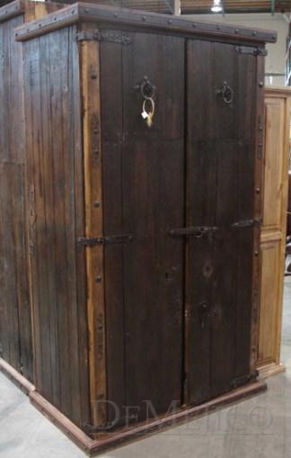 old door armoire