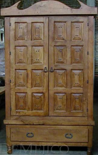 paneled armoire