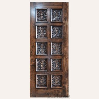 carved entry doors