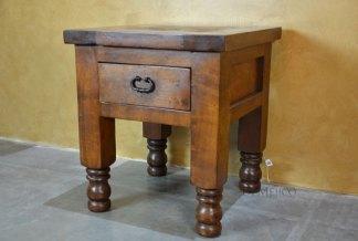 turned leg end table