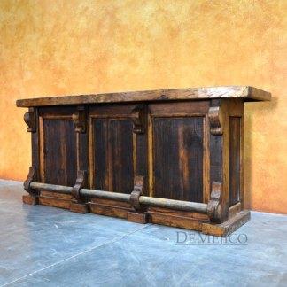 Spanish wood bar