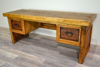 old wood desk