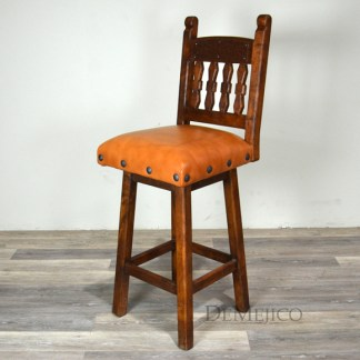 southwest barstool, swivel bar stool
