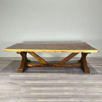 Live Edge Barn Table, Barn Style Dining Tables, Live Edge Table Top