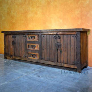 Colorado Buffet, Old Wood Buffet, Spanish Buffet Table