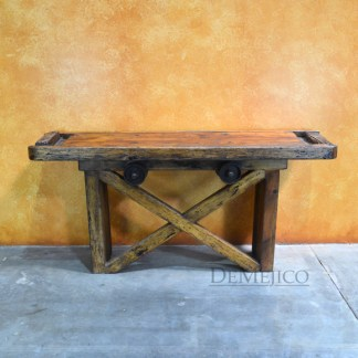 Carreta Rustic TV Console, Spanish Farmhouse Console Table, Farmhouse Style
