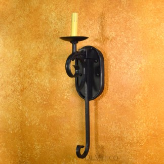 Spanish Wall Sconce, Scrolled Wall Sconce
