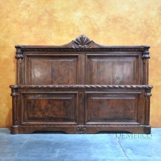 Concha Bed, Spanish Bed, Old World Bed