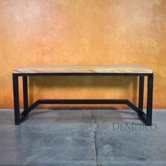 Playa Rustic Modern Accent Bench, Table Bench, Accent Bench