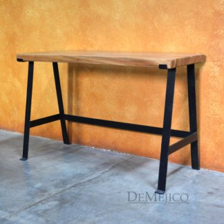 Playa Rustic Modern Accent Console Table, Rustic Console