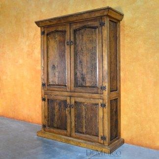 Old Wood Armario Angular, Spanish Armoire