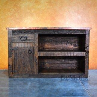 Rustic Copper Vanity, Original Spanish Vanity, Rustic Vanity