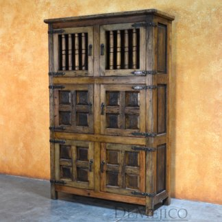 Spanish Colonial Armoire, Rustic Southwest Armoire