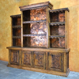 Luis Quince Bar and Wine Cabinet, Spanish Bar Cabinet, Restaurant Furniture
