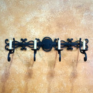 Scrolled Bathroom Sconce, Scrolled Wall Sconce, Spanish Styl