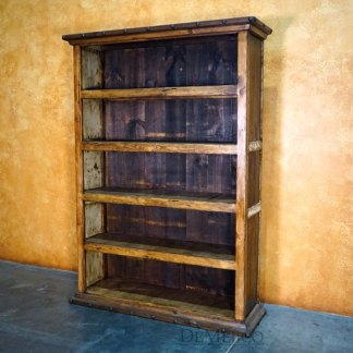 Old Wood Alamo Bookcase, Old Wood Bookcase