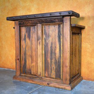 Old Wood Barra Reception, Hostess Stand - Demejico