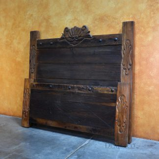 Concha Bed, Old Door Bed, Rustic Bed - Demejico