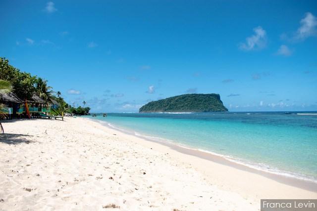 Playa de Lalomanu, la más linda de Samoa