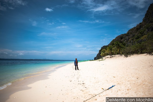 La playa de Black Island.