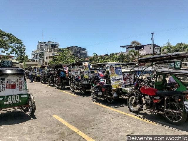 Triciclos o mototaxis por todos lados