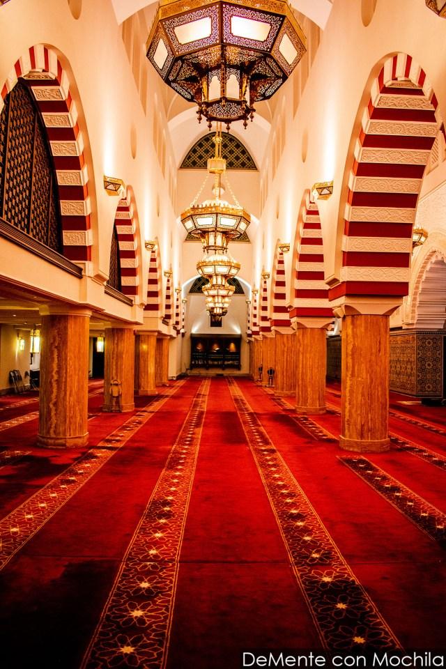 interior mezquita Ash Shailheen