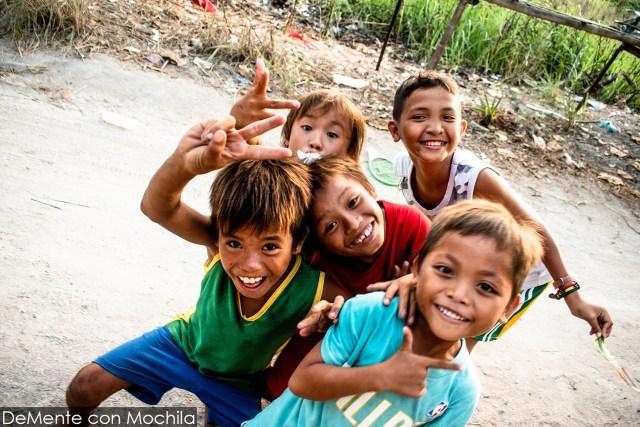 niños de Malapascua