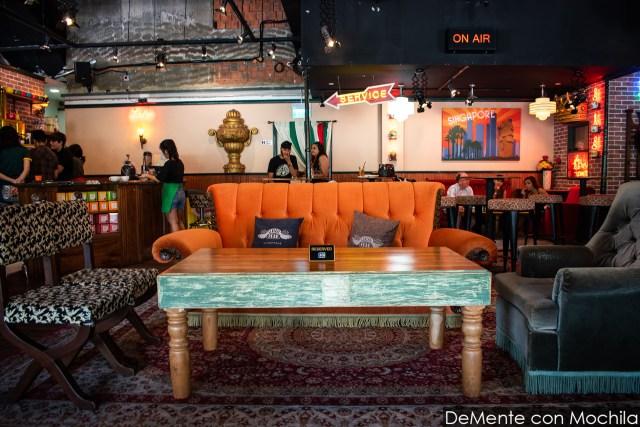 sillón y mesa central